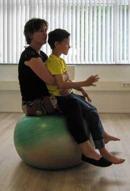 samen balanceren ouder kind