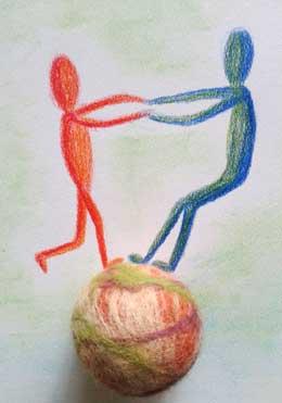 samen balanceren visie